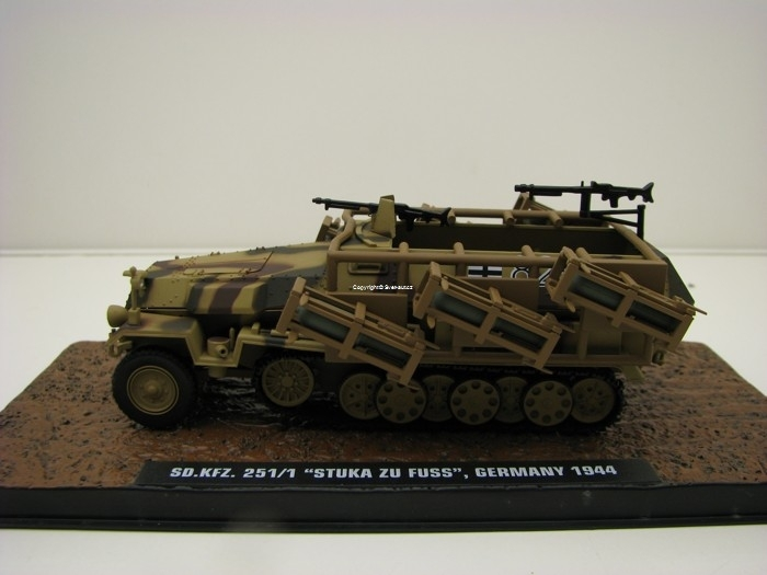 Sd.Kfz. 251/1 Stuka Zu Fuss Germany 1944 1:43 Atlas Edition